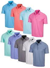 Greg Norman Para hombre Protek ML75 Microlux 2 a continuación Tee Shirt Impresión De Polo Golf-Nuevo 2021