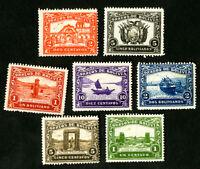 Bolivia Stamps 1939 Set of 6 Essays