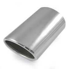 Universal Exhaust Tip Trim Pipe Muffler For Audi A4 S4 A5 S5 A1 S1 A2 S2 A3 S3