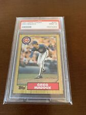 1987 Topps Traded Greg Maddux Chicago Cubs #70T Graded 9 MINT ***ROOKIE CARD***