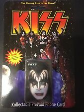 KISS Kollectable PrePaid Phone Cards, Collector's Commemorative Edition