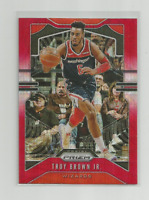 TROY BROWN JR (Wizards) 2019-20 PANINI PRIZM BASKETBALL RED PULSAR PRIZM #196