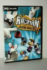 RAYMAN RAVING RABBIDS GIOCO USATO OTTIMO PC DVD VERSIONE ITALIANA GD1 47380