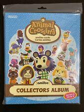 Animal Crossing Series 3 amiibo Cards Collectors Album - BRAND NEW