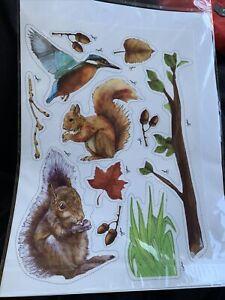 Home or Wheelie Bin Self Adhesive Sticker Kit Wildlife