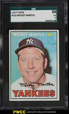 1967 Topps Mickey Mantle #150 SGC 5 EX
