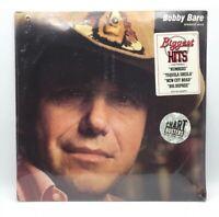 "BOBBY BARE - BIGGEST HITS - NUMBERS BIG DUPREE - VINTAGE LP 12"" FACTORY SEALED ."