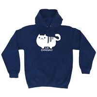 Funny Novelty Hoodie Hoody hooded Top - Cat Enthusiast