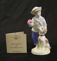 Coalport Figurine - 'My Pal' - Limited Edition - Made in England.