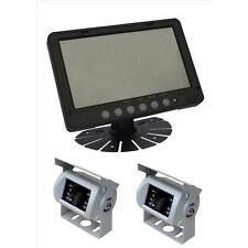 "Parksafe PS026C102 Car Van 7"" Parking Monitor Two CCD Reversing Camera"
