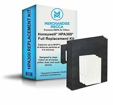 Premium Air Purifier Filter Value Kit For Honeywell HPA300 w/ 4 Carbon Filters