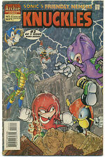 SONIC'S FRIENDLY NEMESIS KNUCKLES #3, GD/VG; Archie Comics 1996; Hedgehog