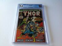 THOR 207 CGC 9.4 SPECIAL HAUNTED HALLOWEEN ISSUE LOKI SATAN DIABLO MARVEL COMICS