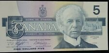 Canadian Five Dollar banknote 1986, Laurier/Kingfisher, Cu