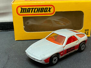 Vintage 1975 Matchbox Japanese Porsche 928 1/64 Scale Diecast MB64