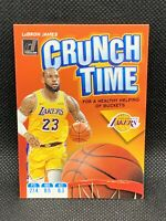 2019 Panini Donruss Lebron James Crunch Time HOT