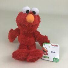 "Playskool Friends Sesame Street Elmo 9"" Plush Stuffed Animal Toy 2016 Hasbro New"