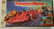 Vintage THUNDER ROAD THE RAM &WRECK BOARD GAME MILTON BRADLEY ALMOST COMPLETE