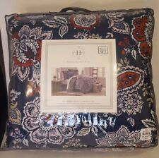 Modern Southern Home 6 Piece Queen Comforter Bed-in-bag Reversible 2 sided