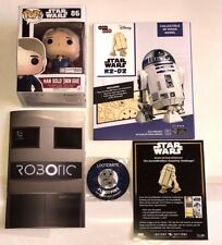 HAN SOLO POP FIGURE SNOW GEAR STAR WARS R2-D2 MODEL WOOD FUNKO DISNEY LOOTCRATE
