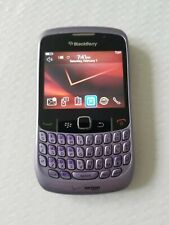 Blackberry Curve 8530 Purple Verizon QWERTY Keyboard Clean ESN