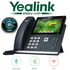 "Yealink SIP-T48S SIP Phone 7"" Touchscreen Optima Bluetooth Gigabit VoIP 16 Line"