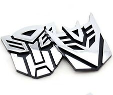 3D Logo Protector Autobot Transformers Emblem Badge Car Sticker Fine Gift JCA