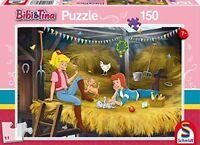 Schmidt Spiele 56188 Bibi und Tina, Auf Heuboden Puzzles, 150 Teile