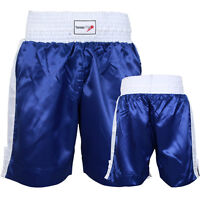TurnerMAX Thai Boxing Shorts Muay Kickboxing Training MMA UFC Fight Martial Arts