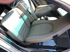 PORSCHE 911 944 964 SEAT UPHOLSTERY KIT LINEN GERMAN LEATHER 85-94 BEAUTIFUL