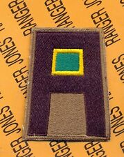 """Us 1st First Army Command Wac Womens Auxillery Corps Branch Ssi 3"""" patch c/e"""