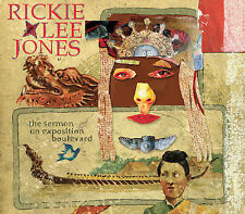Rickie Lee Jones, The Sermon On Exposition Blvd. [Fold-out Digipak with 14 page