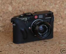 Mr. Zhou Black Leather Half Case fits Leica M6 M7 MP Cameras with Leicavit