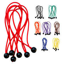 """6pcs 5.9"""" Heavy Duty Bungee Cord Ball Bungees Tarp Canopy Tie Downs Straps"""