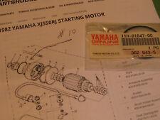 YAMAHA XJ550 XS400S XZ550 FZ600 YX600 STARTER MOTOR O-RING OEM # 11H-81847-00