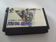 LOOSE Metal Gear Nintendo Famicom Japan