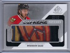 2014-15 SP Game Used Supreme Patches #PA-SA Brandon Saad 12/12