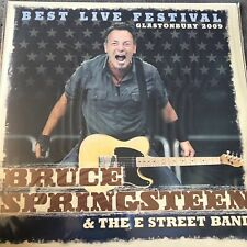 "BRUCE SPRINGSTEEN & THE E STREET BAND ""BEST LIVE GLASTONBURY 2009"" NEW VINYL LP"