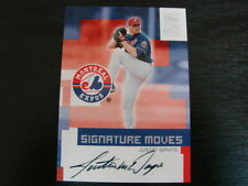 2002 Topps Traded Justin Wayne Autograph / Signed card (B3) Montreal Expos