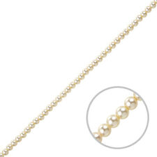 Swarovski Crystal Glass Pearl Beads 5810 Cream 3mm Pack of 50 (J83/4)