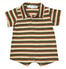 Oshkosh B'gosh Stripes Romper w/ Collar (RWC-09) Infant/Baby Boy Clothes, 6 mos