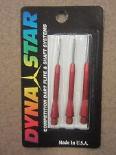 Dynastar Aluminum Dart Shafts Red DXL-75 w/ FREE Shipping