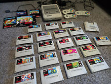 Super Nintendo SNES + 20 Top Spiele