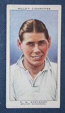 Bolton Wanderers  Ray Westwood   Original   Vintage Footballer  Card