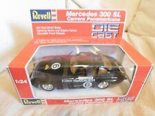 REVELL MERCEDES 300 SL CARRERA PANAMERICANA MEXICO DIECAST CAR #8606 1:24 BLACK