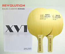 Lightest XVT Balsa Carbon Table Tennis paddle/ Table Tennis Blade