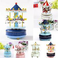 Merry-Go-Round Carousel Music Box for Kids Child Christmas Birthday Gift UK