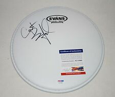 """CARTER BEAUFORD SIGNED AUTOGRAPHED EVANS 10"""" DRUMHEAD PSA/DNA AC15090 dmb"""
