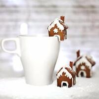 Christmas Gingerbread House Cookie Cake Mold Cutters Biscuit Mold Xmas UK