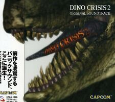 Dino Crisis 2 Original Soundtrack Capcom Japan GAME MUSIC CD NEW
